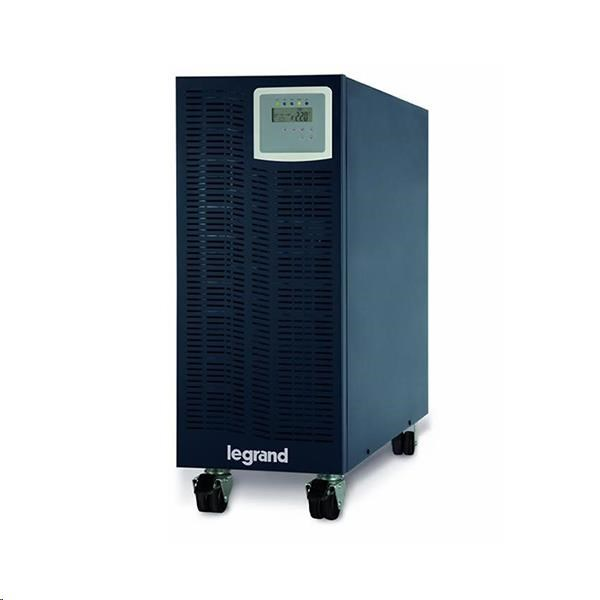 Legrand UPS 1f/1f  KEOR S 6000VA, on-line, 6000VA / 5400W, 17 minut, RS232, Tower, krytie IP31