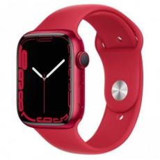 Apple Watch Series 7, 45mm (P)RED/(P)RED SportBand