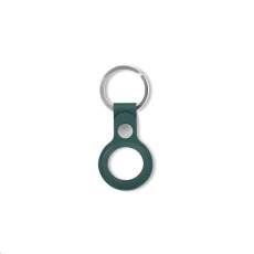 COTEetCI kožené pouzdro proti krádeži pro Apple AirTag, zelená