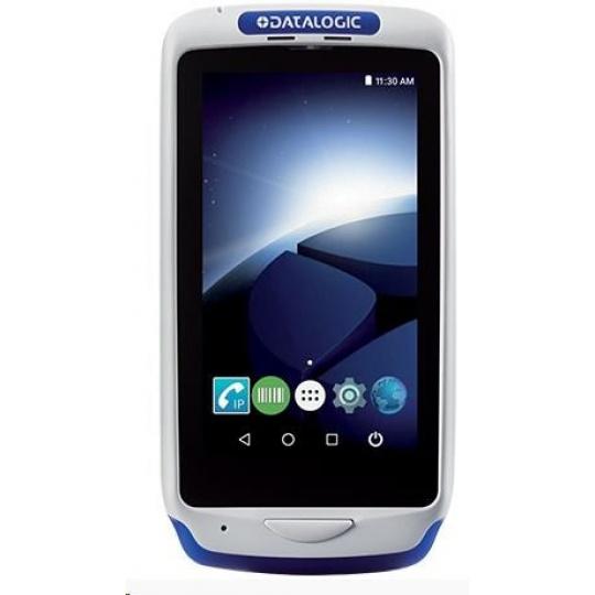 Datalogic Joya Touch Plus, 2D, BT (BLE), Wi-Fi, NFC, modrá, grey, WEC 7