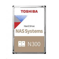 "TOSHIBA HDD N300 NAS 8TB, SATA III, 7200 rpm, 256MB cache, 3,5"", RETAIL"