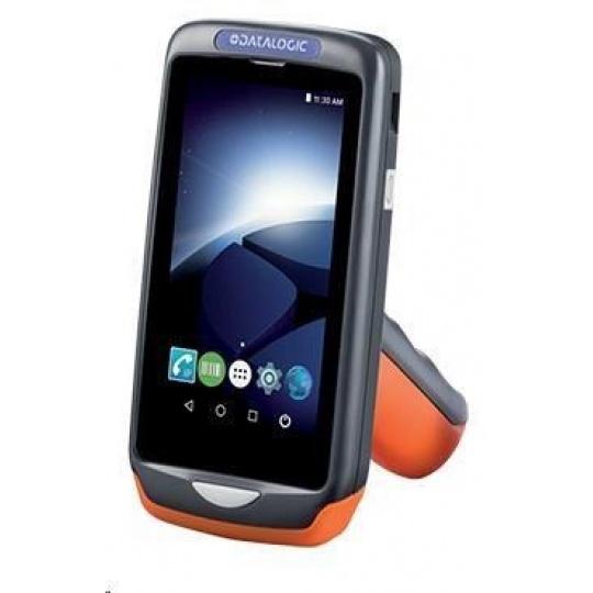Datalogic Joya Touch A6, 2D, USB, BT, Wi-Fi, NFC, Gun, dark grey, oranžová, Android