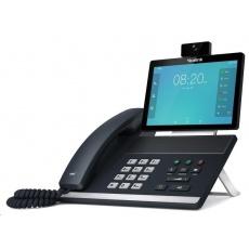 "Yealink VP59 IP telefon, 8"" 1280x800 LCD, 2x 10/100/1000, Wi-Fi, Bluetooth, FHD kamera, PoE, 16xSIP, 2xUSB, bez adaptéru"