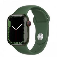 Apple Watch Series 7 Cell, 41mm Green/Clover SportBand