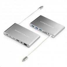HyperDrive Ultimate USB-C Hub - Stříbrný
