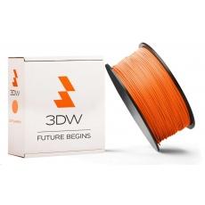 3DW - ABS filament pre 3D tlačiarne, priemer struny 2,9mm, farba oranžová, váha 1kg, teplota tisku 220-250°C