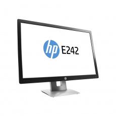 """LCD HP 24"""" E242- black/gray, B+"""