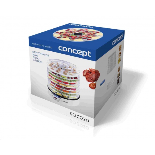 CONCEPT SO2020 sušička ovocia