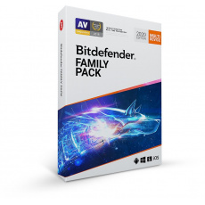 PROMO_5PK Bitdefender Family pack - 15 zařízení na 1 rok- BOX 5+1