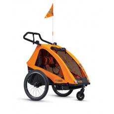 S'COOL TaXXi Pro 2 Cyklovozík oranžový