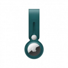 APPLE AirTag Leather Loop - Forest Green