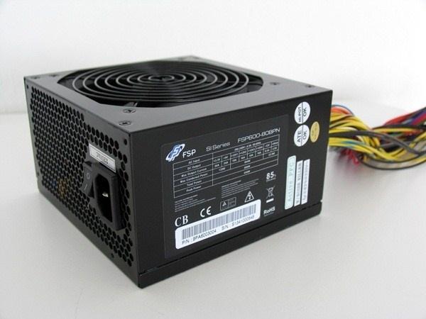 Fortron zdroj 600W, FSP600-50ARN 85+, 600W, 1x+12V, bulk