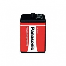 PANASONIC Zinkouhlíkové baterie Red Zinc 4R25RZ/B 4R25 6V (shrink 1ks)