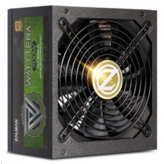 ZALMAN zdroj WATTTERA ZM700-EBTII - 700W 80+ Gold, 13,5cm fan, modular