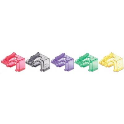 Intellinet klipy pro opravu RJ45, různé barvy, 50 ks