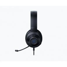 RAZER sluchátka Kraken X pro konzole, modro-černé, 3.5 mm jack, herní