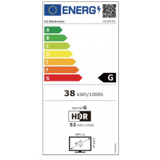 "LG MT VA LCD LED 31,5"" 32UP550 - VA panel, 3840x2160, 2xHDMI, DP, USB 3.0, USB-C, repro, pivot"