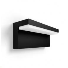 PHILIPS Nyro venkovní nástěnné svítidlo, HUE White and Color Ambiance, 230V, 1x13.5W, černá