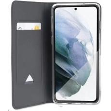 4smarts flipové pouzdro URBAN Lite pro Samsung Galaxy S21, černá