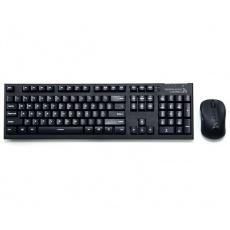 ZALMAN Set klávesnice a myš bezdrátové ZM-KM870RF, black, ENG