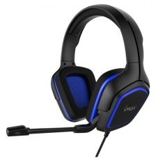 iPega herní stereo sluchátka s mikrofonem PG-R006, 3,5 mm jack, modrá