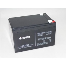 Baterie - FUKAWA FW 12-12 U (12V/12Ah - Faston 250), životnost 5let