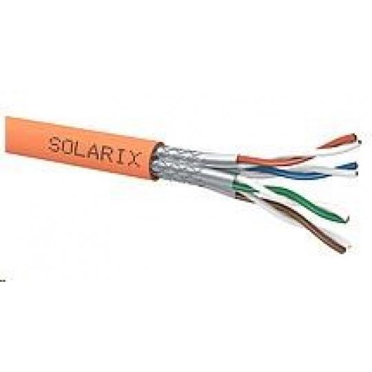 Instalační kabel Solarix SSTP, Cat7, drát, LSOHFR, cívka 500m SXKD-7-SSTP-LSOHFR-B2ca