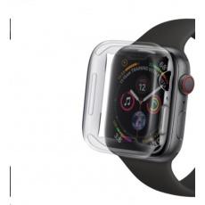 COTEetCI celoplošné ochranné pouzdro pro Apple Watch 4 / 5 40 mm transparentní