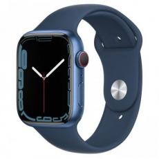 Apple Watch Series 7 Cell, 45mm Blue/A.Blue SportBand