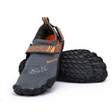 Naturehike boty do vody 300g vel. M - šedá-oranžová