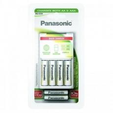 PANASONIC Pokročilá nabíječka K-KJ51MGD42E -vhodné pro AA/AAA, v balení 4xAA 1900/2xAAA 750,doba nabíjení +/- 10h