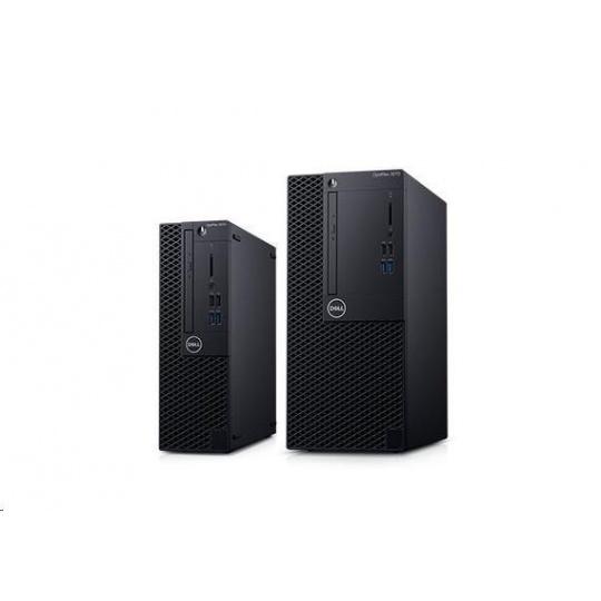 DELL Optiplex 3070 MT/i3-9100/8GB/256GB SSD/Intel 630/DVDRW/Kb/Mouse/260W/W10Pro/3Y Basic OS