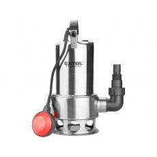 Extol Premium 8895016 čerpadlo ponorné kalové, nerezové tělo, 1100W, 1600l/h, 15m kabel