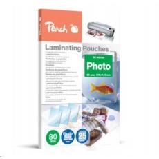 Peach Laminating Pouch Photosize 10x15 cm (106x156 mm), 80mic, S-PP080-20
