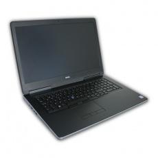 """Notebook Dell Precision 7710 Intel Core i7 6820HQ 2,7 GHz, 16 GB RAM, 250 GB SSD, Quadro M3000M, 17,3"""" 1920x1080, COA štítok Windows 7 PRO"""