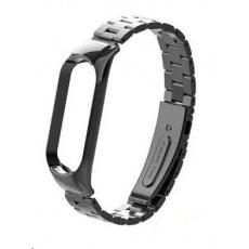 eses kovový řemínek černý pro Xiaomi Mi Band 5