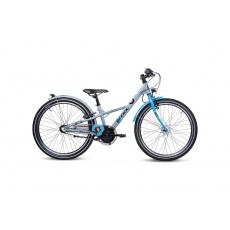 S'COOL  Detský bicykel XXlite alloy 3s modrý/tmavomodrý