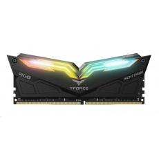 DIMM DDR4 32GB 3000MHz, CL16, (KIT 2x16GB), T-FORCE Night Hawk RGB (Black)
