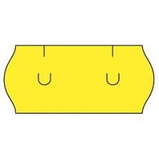 cenovkové etikety 26x12 UNI - žlté (pre etiketovacie kliešte) 1.500 ks/rol.