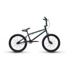 S'COOL  XtriX 40 Detský bicykel tmavozelený/zlatý (od 122 cm)