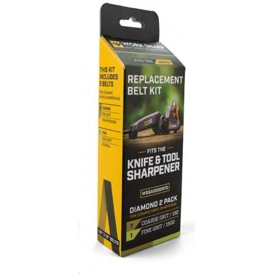 Work Sharp - Diamond Belt Kit Qty 1 - 180 Grit   Qty 1 - 1500 Grit - náhradní brusné pásky