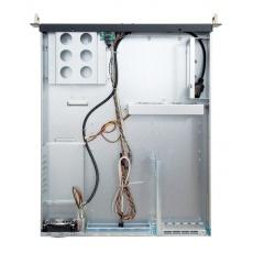 CHIEFTEC skříň Rackmount 2U ATX, UNC-210TR-B-U3, without Riser Card, Black, 400W zdroj