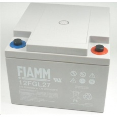 Baterie - Fiamm 12 FGL27 (12V/27Ah - M5), životnost 10let