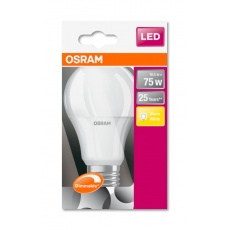 OSRAM LED SUPERSTAR CL A Fros. 10,5W 827 E27 1055lm 2700K (CRI 80) 25000h A+ DIM (Krabička se závěsem 1ks)