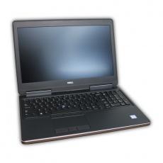 "Notebook Dell Precision 7510 Intel Xeon E3-1535M v5 2,9 GHz, 16 GB RAM, 256 GB SSD, Quadro M2000M, cam, 15,6"" 1920x1080, COA štítok Windows 7 PRO"