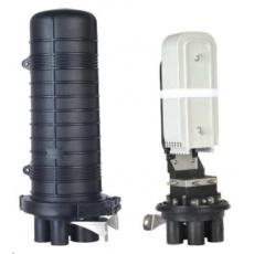 XtendLan Spojka, optická, vodotěsná, zemní/zeď/stožár, 144 vláken 6x24, 5x prostup, matice, 510x230mm