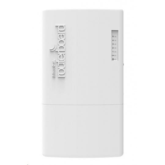 MikroTik Cloud Router Switch CRS105-5S-FB, FiberBox, 400MHz CPU, 128MB RAM, 5x SFP slot (1x S-RJ01 součástí), vč. L5