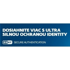 ESET Secure Authentification 10 - 24 PC + 1 ročný update
