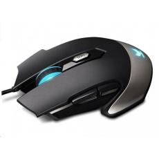 RAPOO myš V310, optická, gaming, černá
