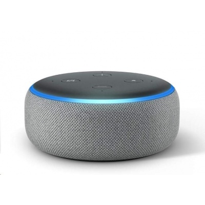 Amazon Echo Dot (3. generace) Heather Gray - šedá